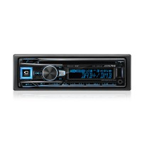 Magnetola Alpine CDE-196DAB  CD/DAB  grotuvas su Bluetooth