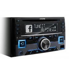 Automagnetola ALPINE CDE-W296BT   2-DIN RADIJO IMTUVAS SU CD/USB IR BLUETOOTH