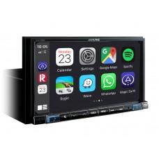 """Alpine ILX-702D 7 colių skaitmeninės medijos stotis, suderinama su """"Apple CarPlay"""" ir """"Android Auto"""""""