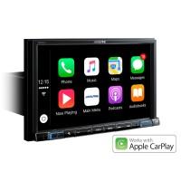 """Alpine X802DC-U multimedija didelis 8"""" ekranas - TomTom navigacija pritaikytais krovininiam transportui ir kemperiams  ir pramogoms  Apple CarPlay ir Android Auto"""
