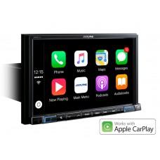 """Alpine X802DC-U multimedija didelis 8"""" ekranas - TomTom navigacija  ir pramogoms  Apple CarPlay ir Android Auto"""