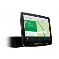 """Alpine iLX-F903D Halo9 - 1DIN multimedijos korpusas – 9"""" ekranas. Multimedijos sistema, veikianti su CarPlay ir Android Auto"""