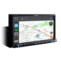 Multimedija Alpine iLX-702 su Apple CarPlay ir  Android Auto  technologija #Nemokamas pristatymas