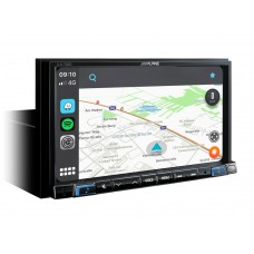 Multimedija Alpine iLX-702 su Apple CarPlay ir  Android Auto  technologija #Nemokamas pristatymas