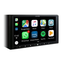 "Alpine iLX-W650BT 7"" Multimedijos sistema, veikianti su Apple CarPlay ir Android Auto"