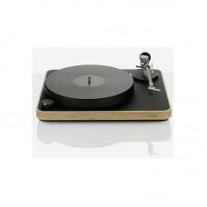 Clearaudio patefonas Concept juodas-medžio apdailos stalas kartridžas Concept MM
