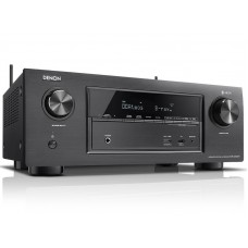 Denon AVR-X3400W 7 x 180W Full 4K Ultra HD tinklo A/V imtuvas, Denon Heos Multiroom