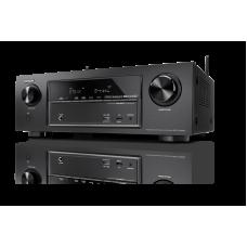 Denon AVR-X1300W 7 x 145W Full 4K Ultra HD tinklo A/V imtuvas su Bluetooth, WI-FI ir pažangiu vaizdo apdorojimu technologija