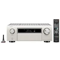AVR-X6500H 11 x 205W Full 8K Ultra HD tinklo A/V imtuvas su Bluetooth, WI-FI ir pažangiu vaizdo apdorojimu technologija ir Denon Heos Multiroom
