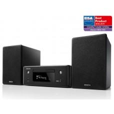 Denon CEOL-N10 tinklinis muzikos centras su CD grotuvu ir HEOS multiroom  ir lentyninemis kolonėlėmis