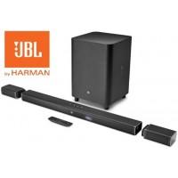 JBL Bar 5.1 TV garso sistema soudbaras  5.1 kanalo 4K Ultra HD garso takelis su  belaidėmis  garso kolonėlėmis