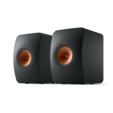 KEF LS50 Wireless II belaidės aktyvios lentyninės garso kolonėlės #Nemokamas pristatymas