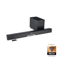 Klipsch Reference RSB-14 sound bar  TV garso sistema su bevieliu žemų dažnių garsiakalbiu , Dolbi Atmos ,Play-Fi bevielis perdavimas