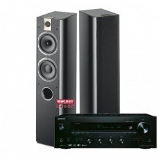 Stereo komplektas stiprintuvas ONKYO TX-8150 2x190W su kolėlėm Focal Chorus 716