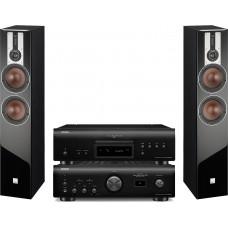 Stereo komplektas stiprintuvas Denon PMA-1600NE + DCD-1600NE + Dali Opticon 6 kolonėlės
