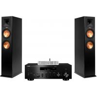 Stereo komplektas stiprintuvas Yamaha R-N303D ir Kolonėlės Klipsch Reference RP-260F