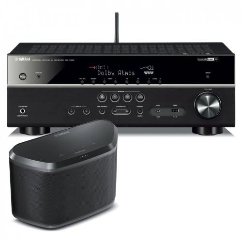 multiroom komplektas yamaha rxv 581 su musiccast kolon le. Black Bedroom Furniture Sets. Home Design Ideas