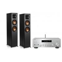 Stereo komplektas Yamaha R-N602 ir grindinės kolonėlės Klipsch R-620F #Nemokamas pristatymas