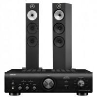 Stereo komplektas Denon PMA-600NE  su kolonėlėmis Bowers & Wilkins 603 S2 #Nemokamas pristatymas