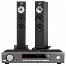 Stereo komplektas Arcam SA10 su kolonėlėmis Bowers & Wilkins 603 S2 #Nemokamas pristatymas