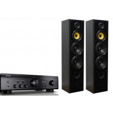 Stereo komplektas PMA-720AE ir grindinės kolonėlės TAGA Harmony TAV 606F SE