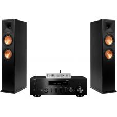 Stereo komplektas Yamaha R-N803D + Klipsch Reference RP-260F