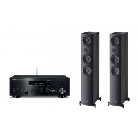 Stereo komplektas Yamaha R-N602D + Heco Aurora 700