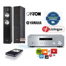 Stereo Komplektas Yamaha R-N303D su Kolonėlėmis Canton SP-706, nemokamas pristatymas