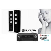 Garso sistemos komplektas  Pylon Audio Pearl 27 su Denon AVR-X1500H Heos Multiroom