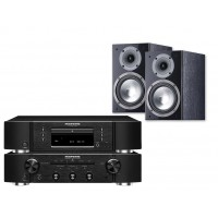 Stereo komplektas Marantz PM5005 CD grotuvas CD5005 su Canton 206 lentyninėmis  kolonėlėmis #Nemokamas pristatymas