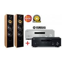 Stereo Komplektas Taga Harmony TAV-606 V.3 su tinkliniu stiprintuvu Yamaha R-N303 2X100W