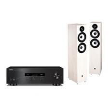 Stereo komplektas Yamaha R-S202 ir Pylon Audio Pearl 25  grindinės garso kolonėlės