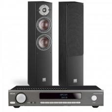 Stereo komplektas Arcam SA10 su kolonėlėmis Dali Oberon 5 #Nemokamas pristatymas