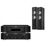 Stereo komplektas Marantz PM5005 CD grotuvas CD5005 su Canton 706 grindinės garso  kolonėlės  #Nemokamas pristatymas