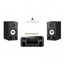 Stereo komplektas Marantz MC-R612 su Triangle Borea BR03 #Nemokamas pristatymas