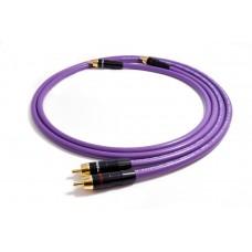 Melodika kabelis  2xRCA - 2xRCA Purple Rain   ilgis  0,5m