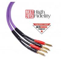 Melodika Purple Rain MDSC40  11AWG/4mm2, ilgis 4m ,kaina už komplektą 2 kolonėlėms.