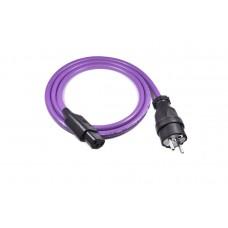 Melodika MDP Maitinimo kabelis 220V Schuko-IEC C13 kištukas , laidininkas   3x2,5mm2, OFC: 99.99% varis   ilgis  0,5m