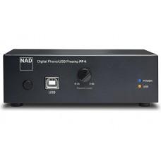 NAD PP 4 patefono pradinis stiprintuvas, su USB  DAC