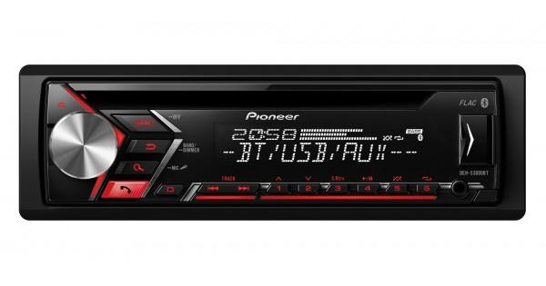 pioneer deh s3000bt auto magnetola rds cd grotuvas. Black Bedroom Furniture Sets. Home Design Ideas