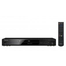 Pioneer BDP-X300 Blu-Ray 3D,  BD, DVD, CD ir  SACD , Wi-Fi Direct , 4K video scaling, 24bit/192kHz D/A keitiklis .