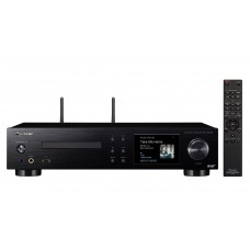 PIONEER NC-50DA stiprintuvas tinklo grotuvas su CD, interneto radijas, Apple AirPlay Certified, Spotify®, TIDAL, and Deezer Music Streaming Services