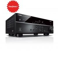 Yamaha RX-V485  Namų kino resyveris  5.1 kanalai 160W, USB,  Bluetooth, Spotyfi , wi-fi, MusicCast Surround