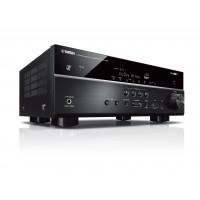 """Yamaha RX-V585 AV imtuvas - 7.2 kanalų HOME COMPLETE leidimas su 4K palaikymu. Palaiko """"Dolby Atmos"""" ir """"DTS: X"""" bei """"MusicCast Surround""""."""