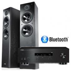 Stereo komplektas Ymaha RS202D stiprintuvas ir Yamaha NS-F51 kolonėlės
