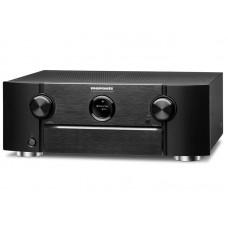 Marantz SR6015 resiveris  tinklinis namų kino stiprintuvas 8k, Bluetooth ir WiFi,Multiroom Heos, USB ,DTS-X, galingumas 9 x 185W